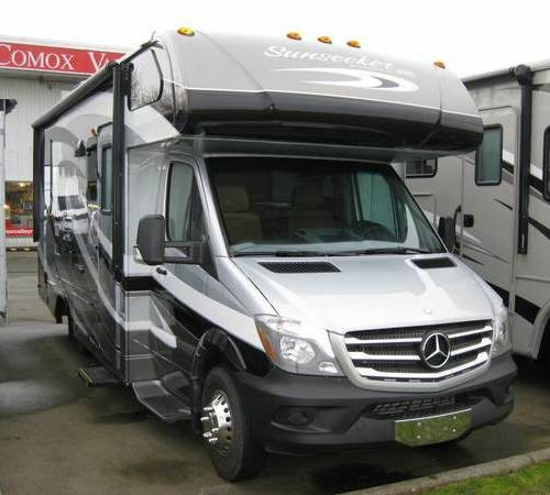 Airstream For Sale Bc >> 2015 Sunseeker Mercedes Sprinter Camper For Sale in Comox, BC