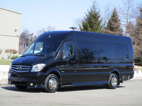 2015 mercedes sprinter 4x4 converted cargo van camper in for Mercedes benz dealers in st louis area