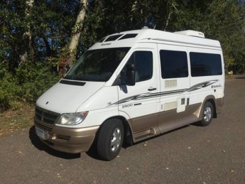 Sprinter Van For Sale Craigslist >> 2007 Roadtrek Mercedes Sprinter Camper For Sale in Center ...