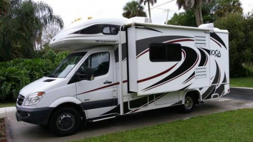 2012 Fleetwood Mercedes Sprinter Camper For Sale In