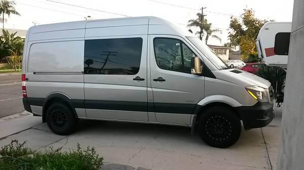 2015 Conversion Mercedes Sprinter Camper For Sale In San Diego CA
