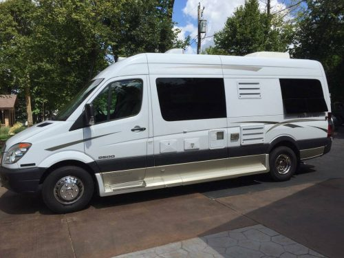 2009 pleasureway mercedes sprinter camper for sale in. Black Bedroom Furniture Sets. Home Design Ideas